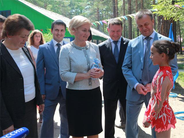 Вице-премьер Ольга Голодец: «Иркутская области – лидер в системе образования»