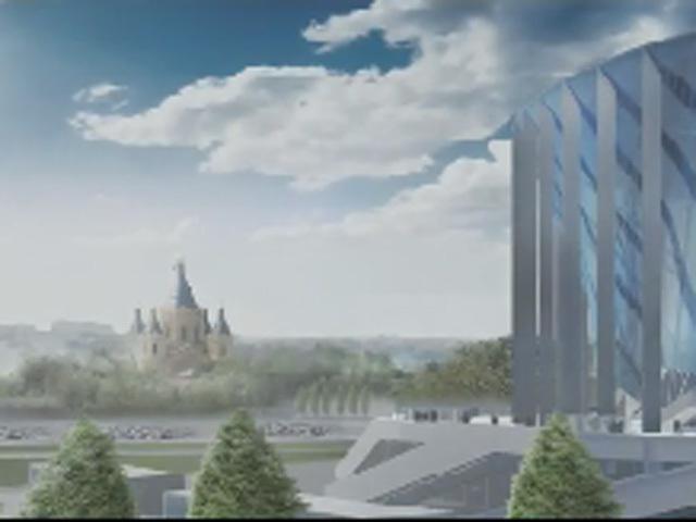 Виртуальная экскурсия по будущему футбольному стадиону на Стрелке
