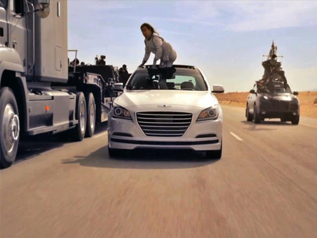 Автопилот в исполнении Hyundai: водители покидают движущуюся по трассе шеренгу автомобилей