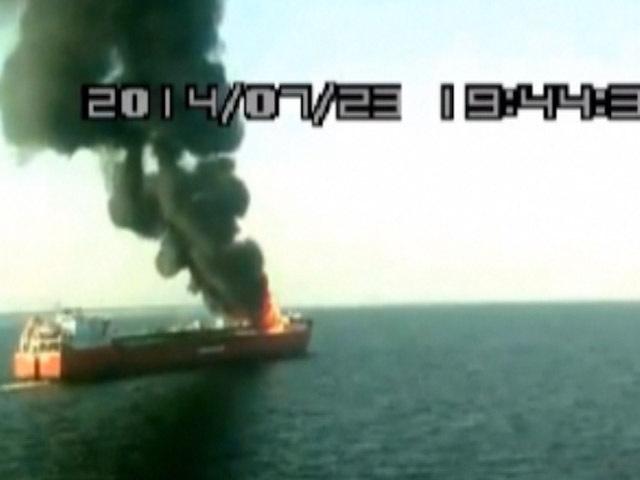 В Ростовской области шесть человек пострадали во время пожара на танкере «Каспиан Стрим»