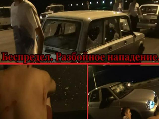 Дорожные разборки в Воронеже