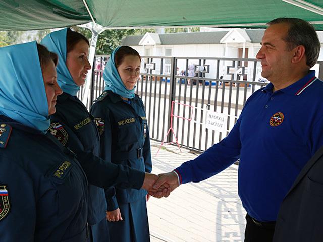 Послушниц Дивеевского монастыря приняли на службу в МЧС