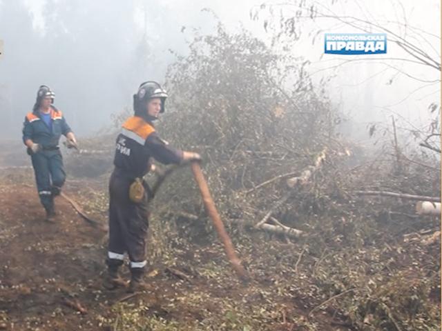 В Тверской области продолжают бороться с торфяными и лесными пожарами