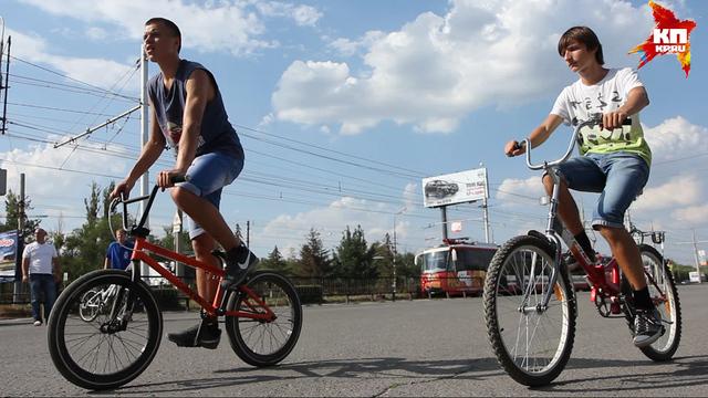 В Волгограде прошел велопробег