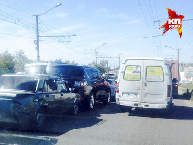 В Омске произошла авария с участием 7 машин