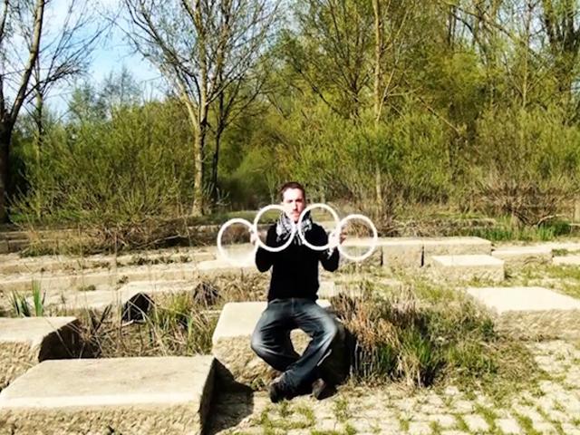 Оптические иллюзии с помощью колец