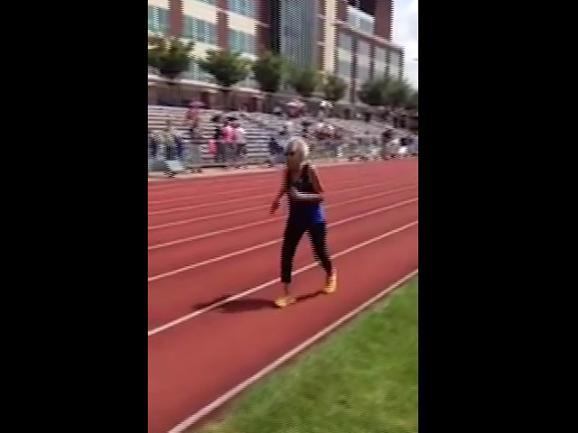 99-летняя спортсменка установила рекорд в спринте