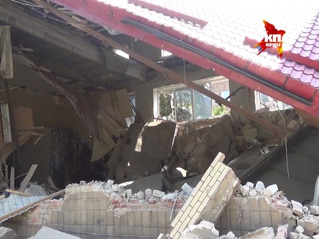 Украинская армия разбомбила Донецкий краеведческий музей