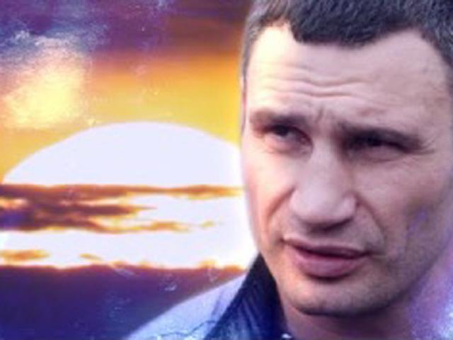 """Виталий Кличко: """"Сегодня в завтрашний день смотреть могутр не только лишь все"""""""