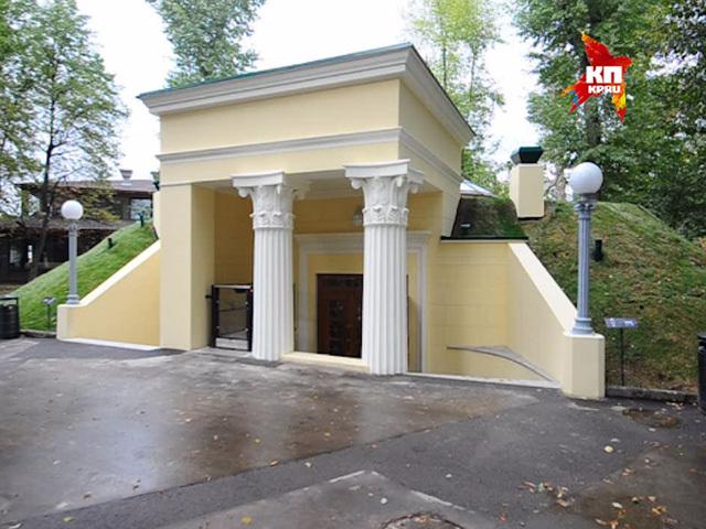 В общественном туалете Парка Горького воссоздали атмосферу 30-х годов