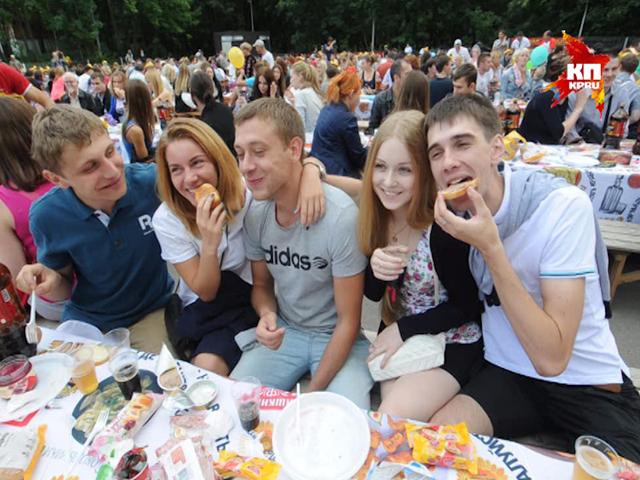 Любители поесть собираются попасть в книгу рекордов России