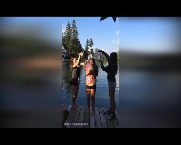 Неудачные моменты при записи ALS Ice Bucket Challenge