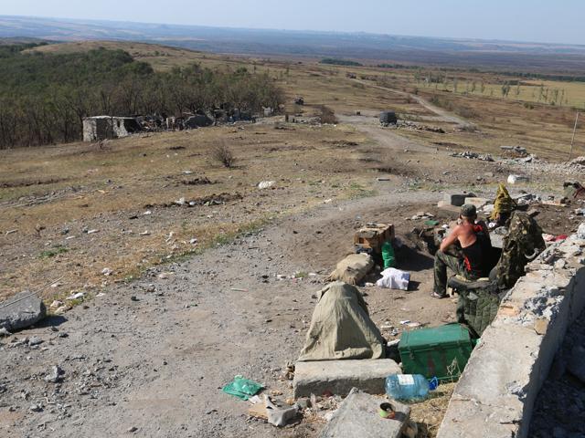 Ополченцы ДНР взяли под контроль высоту Саур-Могила