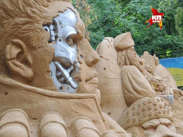 Фестиваль песчаных скульптур «Арт Песок»