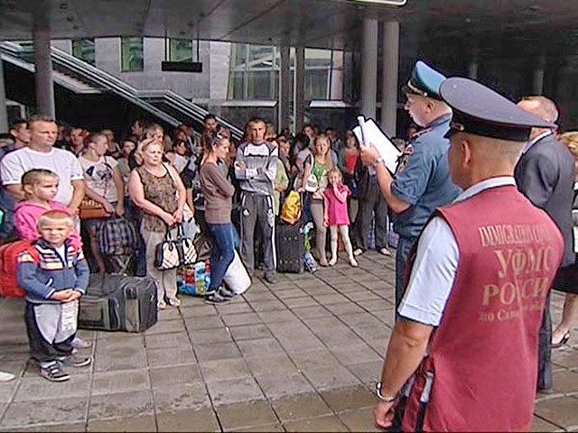 В Самару прибыли еще около 300 беженцев из Восточной Украины