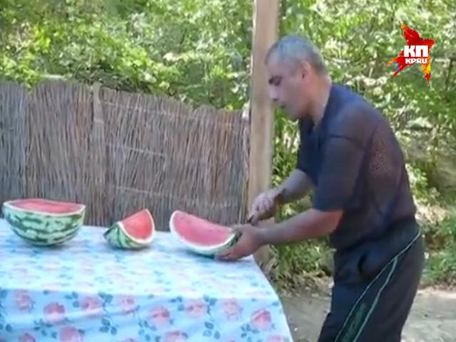 Как правильно резать арбуз