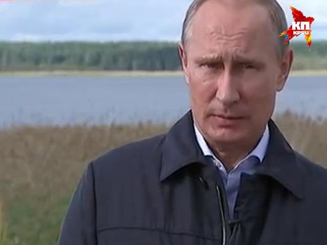 Интервью Владимира Путина телепрограмме «Воскресное время»