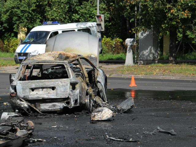 На юго-востоке Москвы мотоциклист погиб при столкновении с Audi