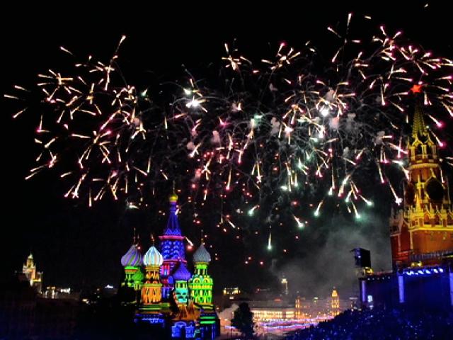 """На Красной площади прошло закрытие фестиваля """"Спасская башня"""""""