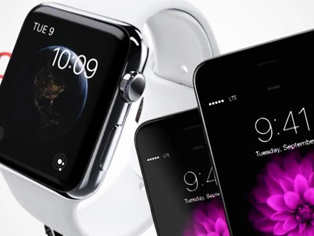 Компания Apple представила iPhone 6 и часы iWatch, которые заставят вас бегать