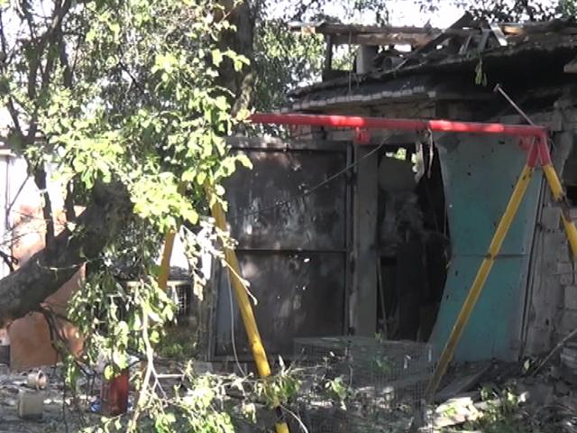 Петровский район Донецка вновь подвергся жесточайшему артобстрелу