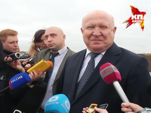 Валерий Шанцев, победивший на выборах губернатора Нижегородской области: Буду и дальше пахать!