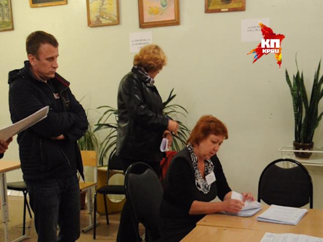 Подсчет голосов на выборах в городе Воскресенске