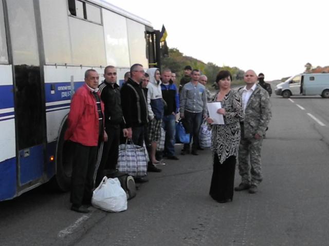 Донецкая народная республика и представители Украины обменялись военнопленными