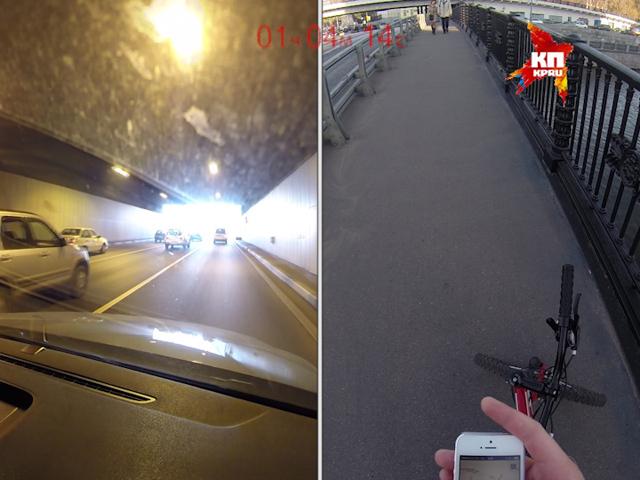 """В День без автомобиля корреспонденты """"КП"""" попробовали добраться до работы на велосипеде и на авто"""