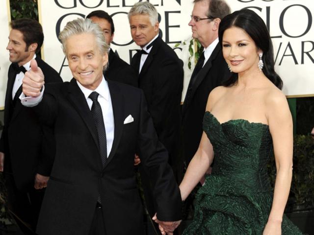 25 сентября празднуют юбилей актерская пара Майкл Дуглас и Кэтрин Зита-Джонс
