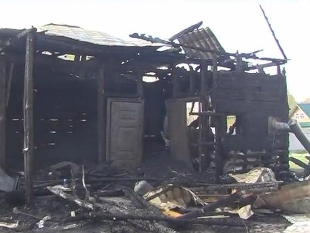 Пожар в Гавриловке: В огне заживо сгорели две девочки