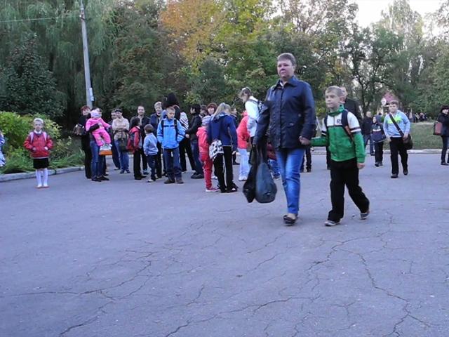 Для детей ополченцев учебный год начался 1 октября