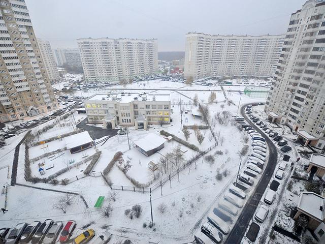 В Москву пришла самая настоящая зима!