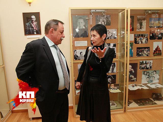 Тамара Золотухина на I Всероссийском молодежном театральном фестивале имени Золотухина (октябрь 2014 года)