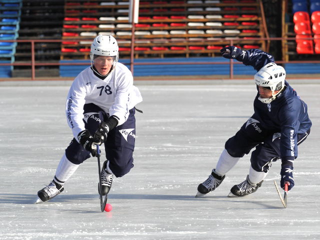 Тренировка «Байкал-Энергии» в Иркутске