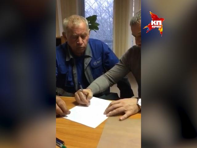 Водитель снегоуборщика из Внуково о том, как произошло столкновение с самолетом