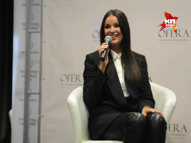 Оксана Федорова представила свою первую коллекцию одежды в рамках Mercedes-Benz Fashion Week Russia