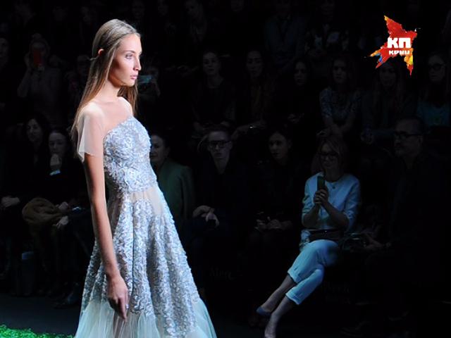 Неделя моды в Москве: Показ Алены Ахмадуллиной