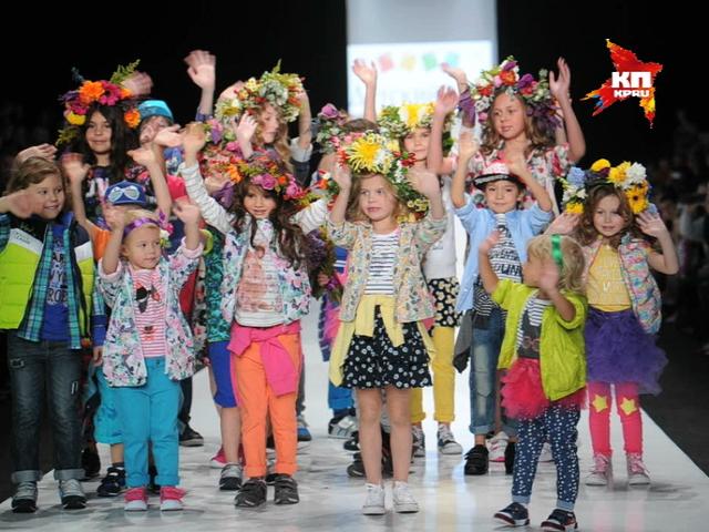 Показ детской моды прошел в Манеже в рамках Mercedes-Benz Fashion Week Russia
