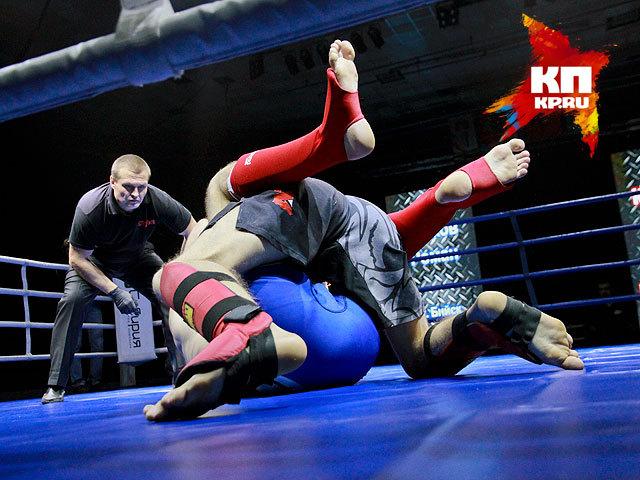 Профессиональные бои федерации Смешанных боевых искусств в Барнауле (октябрь 2014 года)