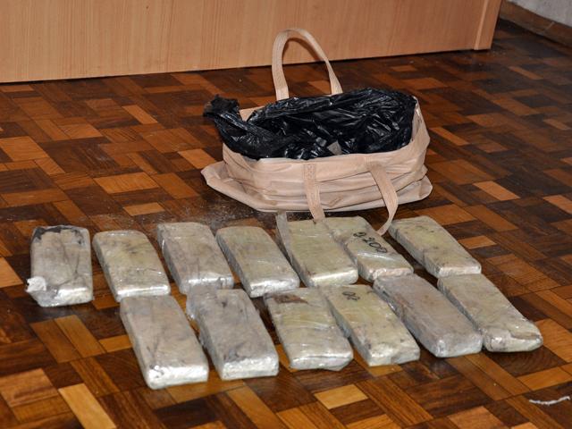 Сотрудники ФСБ в Алтайском крае изъяли более 5 килограммов гашиша