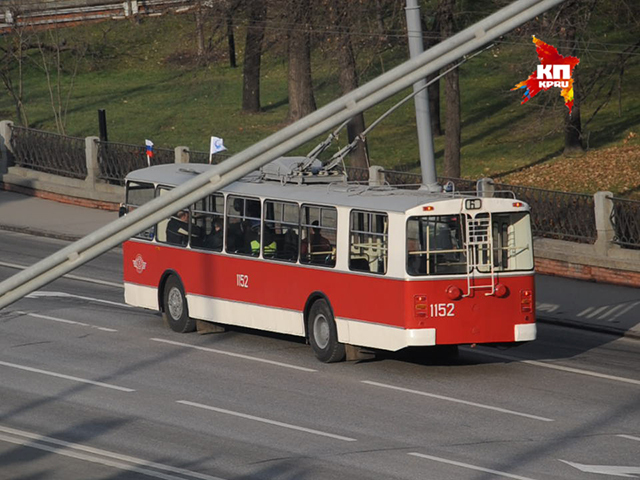 В Москве прошел парад ретро-троллейбусов