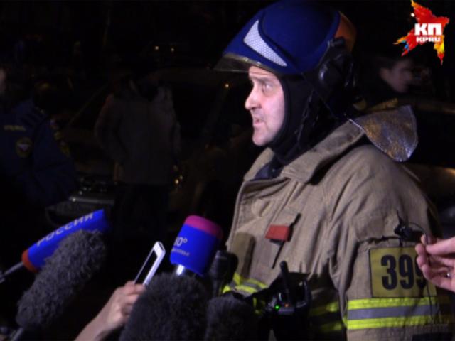 Пожарные ликвидировали возгорание в жилых домах Москвы