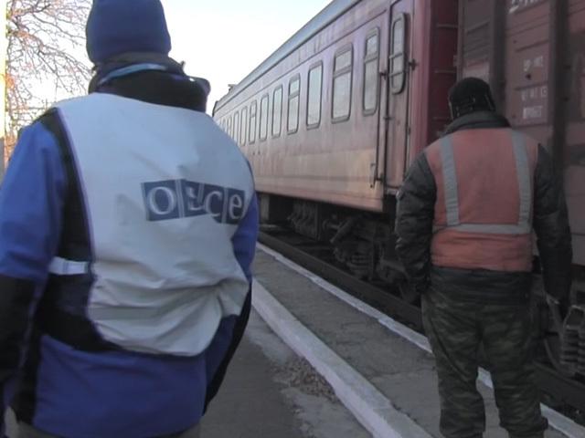 Поезд с обломками Boeing отправился  из Донбасса в Харьков