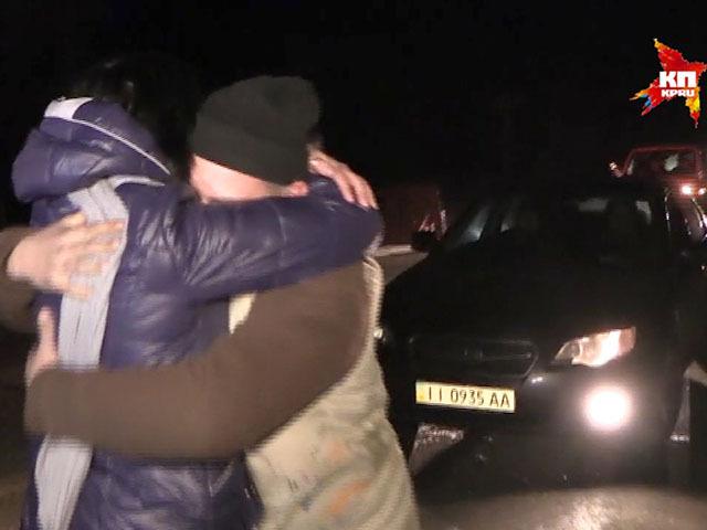 Под Донецком прошел официальный  обмен пленными в количестве 6 на 6