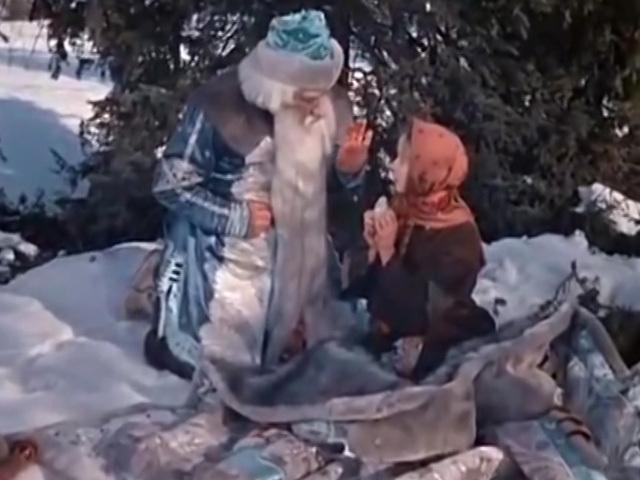 Если б сказки явью стали, было бы не  просто - осудили бы за пытки старика Морозко!