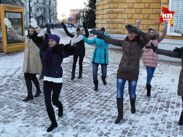 Нижегородские поклонницы готовят для Наталии Орейро флешмоб