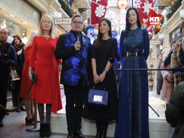Звездный гардероб» из коллекции историка моды Александра Васильева показали в ГУМе