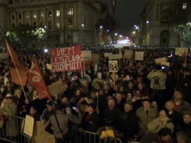 Дарья Асламова: По своему сценарию митинги в Будапеште напоминают киевский Майдан
