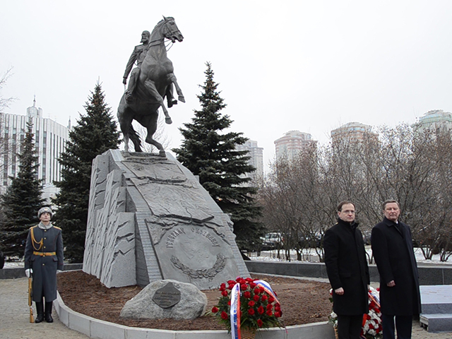 Москве вернули памятник Михаилу Скобелеву